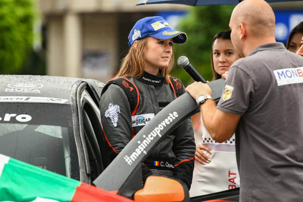 MeetCristiana Oprea the driver of the famous Rally crew from Romania